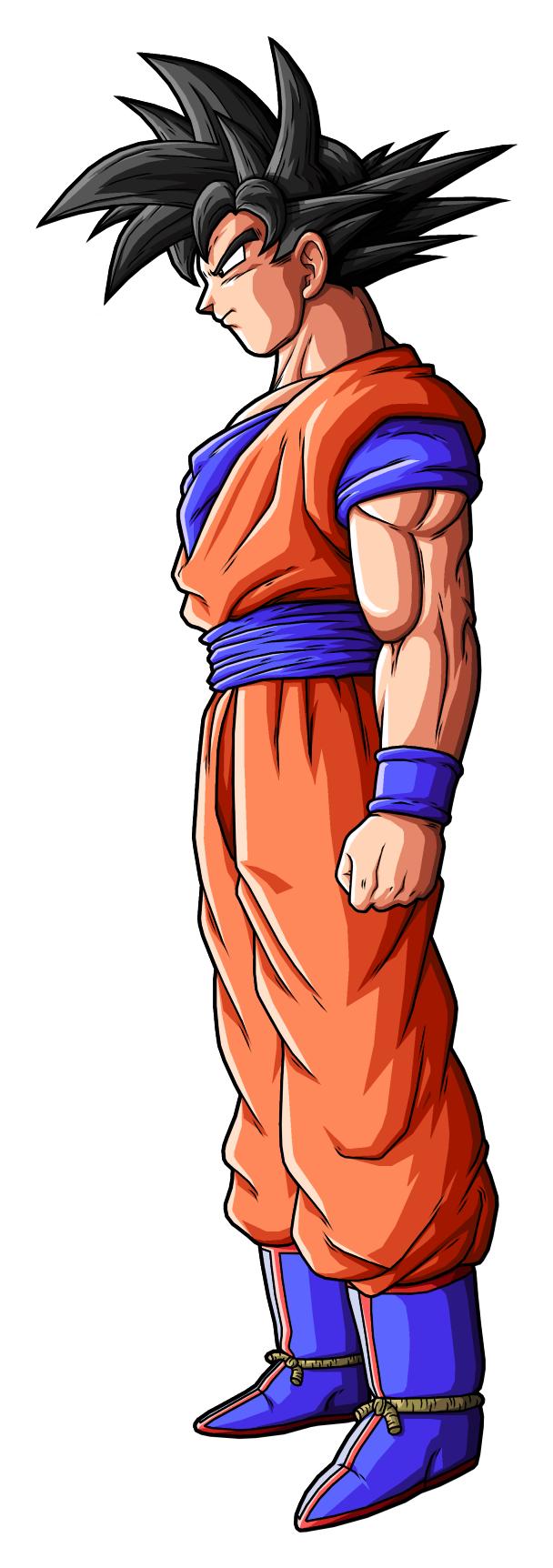 Goku Normal by drozdoo on DeviantArt