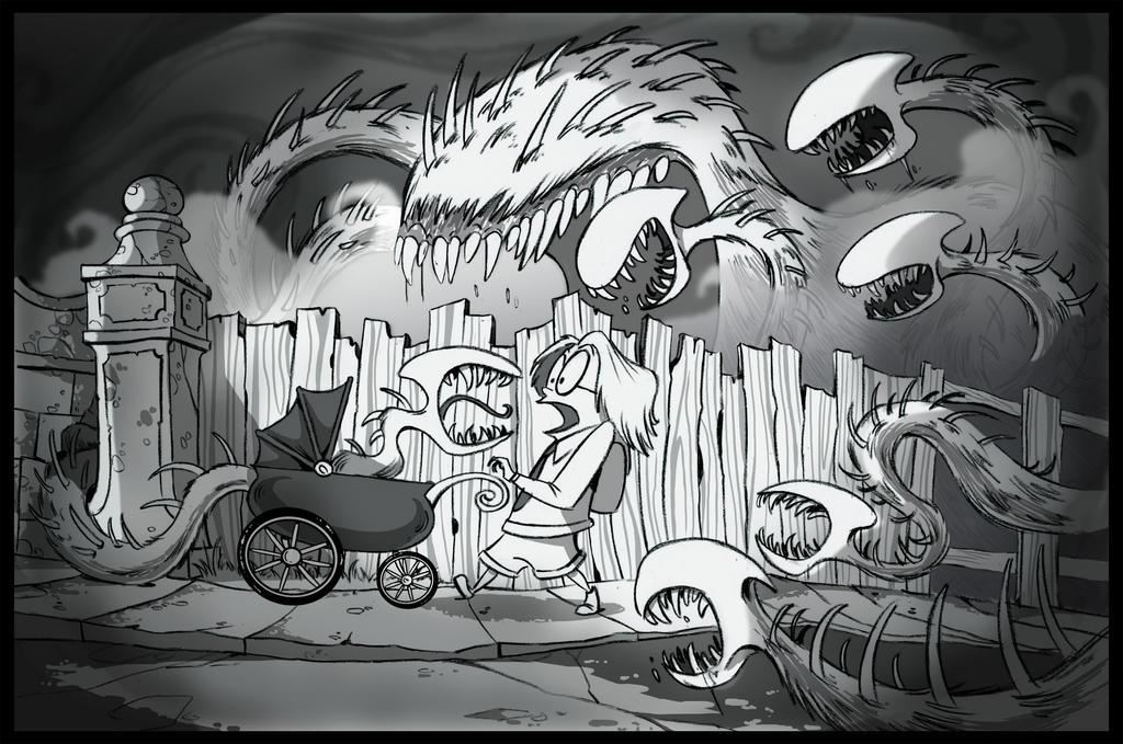 Oddity Lane Rjah by Jays-Doodles