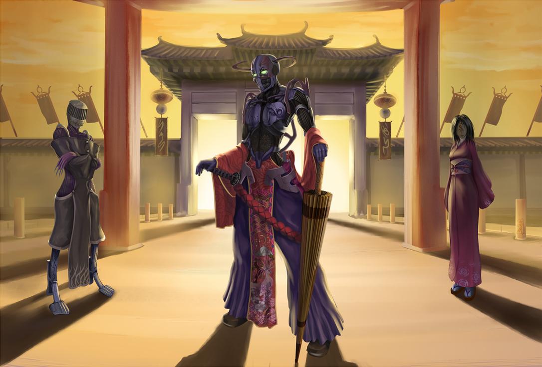 RoboSamurai by IIDanmrak