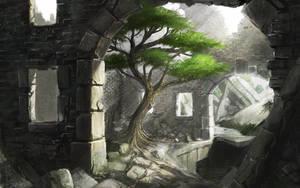 Resident of the ruins by IIDanmrak