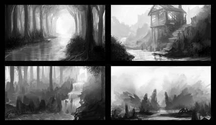 Sketches by IIDanmrak