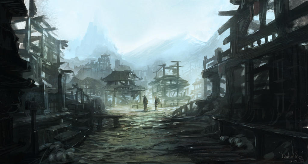 Ghost town by IIDanmrak