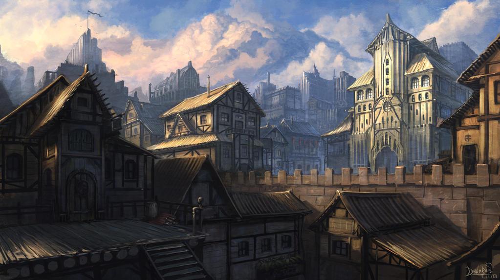 Main town