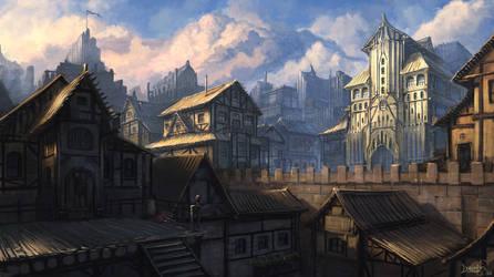 Main town by IIDanmrak