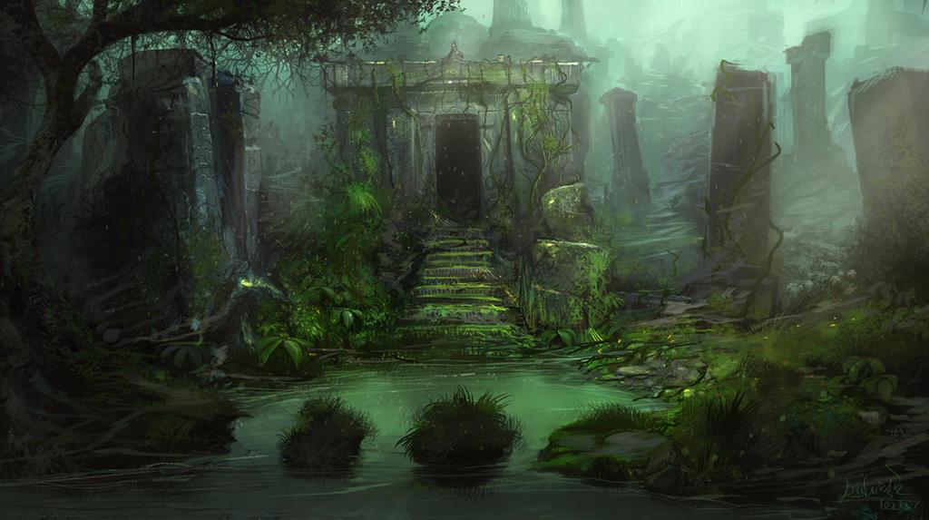 Ruins by IIDanmrak
