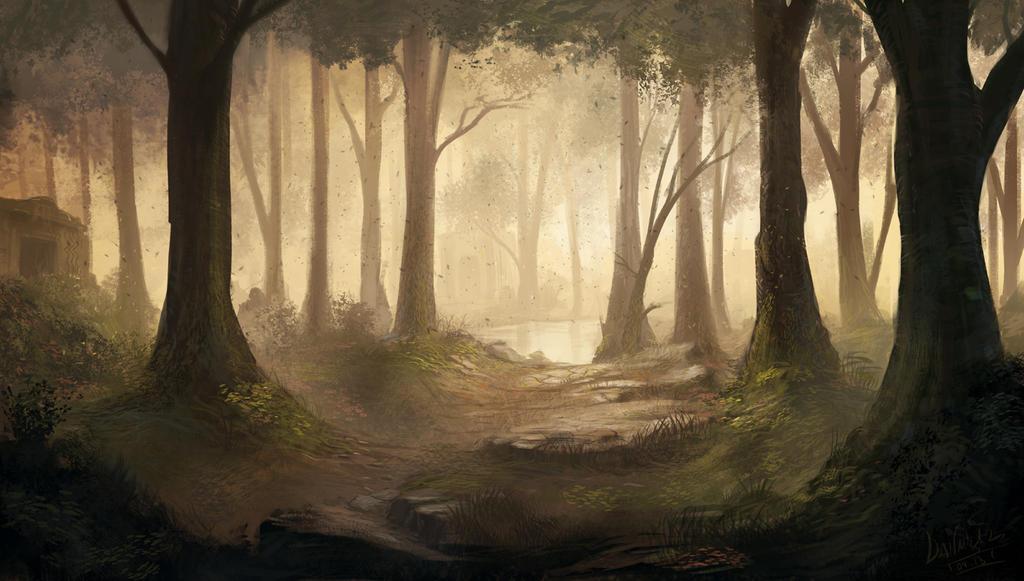 Znalezione obrazy dla zapytania forest deviantart