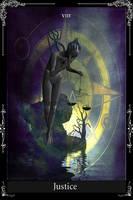 Tarot Card Justice by KnightFlyte96