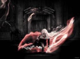 Cybernetic Space Assassin by KnightFlyte96