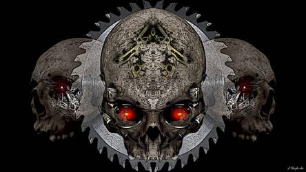 PsyGear Skull v3 by KnightFlyte96