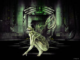 Reptile Fem Freak by KnightFlyte96