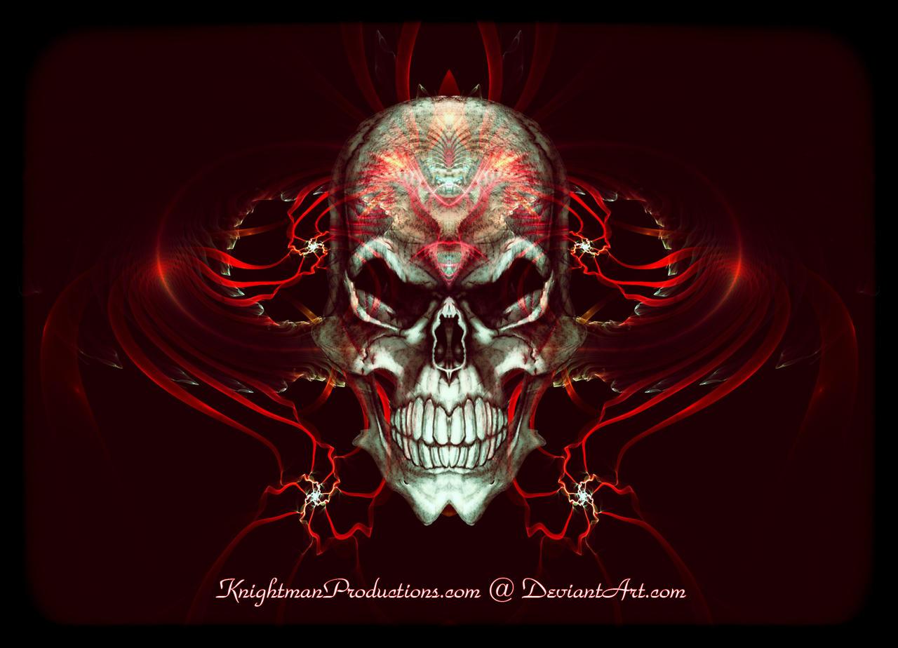 Related For Badass Skull Wallpaper Source Mindwave DA Logo By KnightFlyte96 On DeviantArt