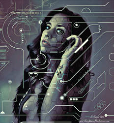 Digital Rave Girl