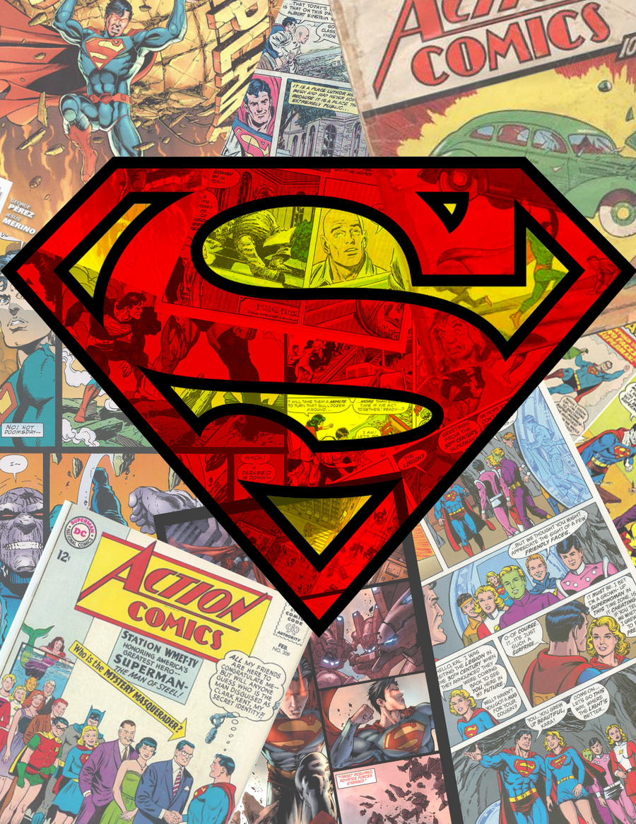 Best Wallpaper Logo Collage - superman_collage_by_barondobbs-d54foz8  Graphic_723138.jpg