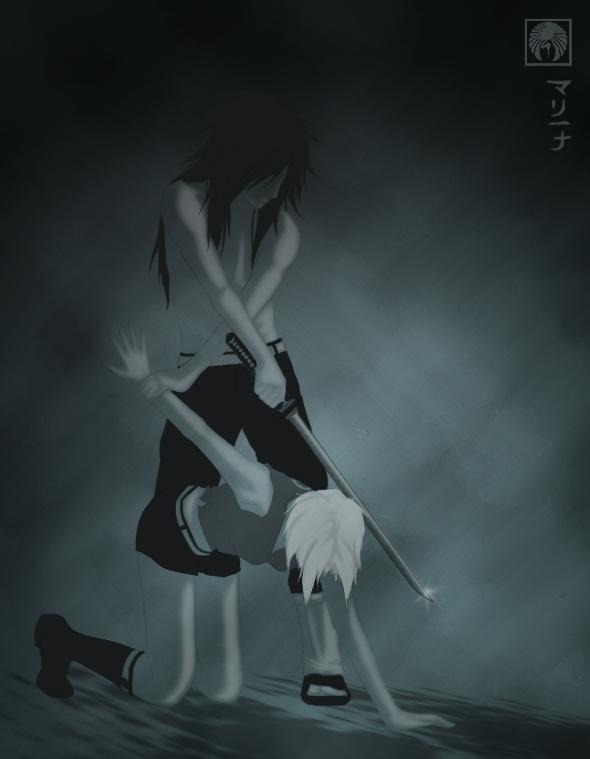Devil's Catch - MadaSaku by yuna2025