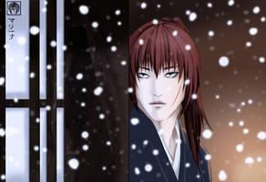 Snowfall - Kenshin Samurai X by yuna2025