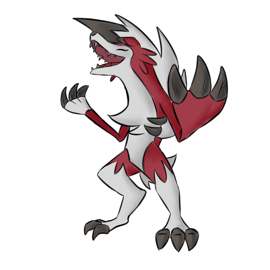 Lycanroc by Aventle