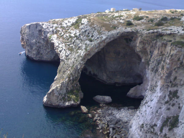 Blue Grotto by cekcek