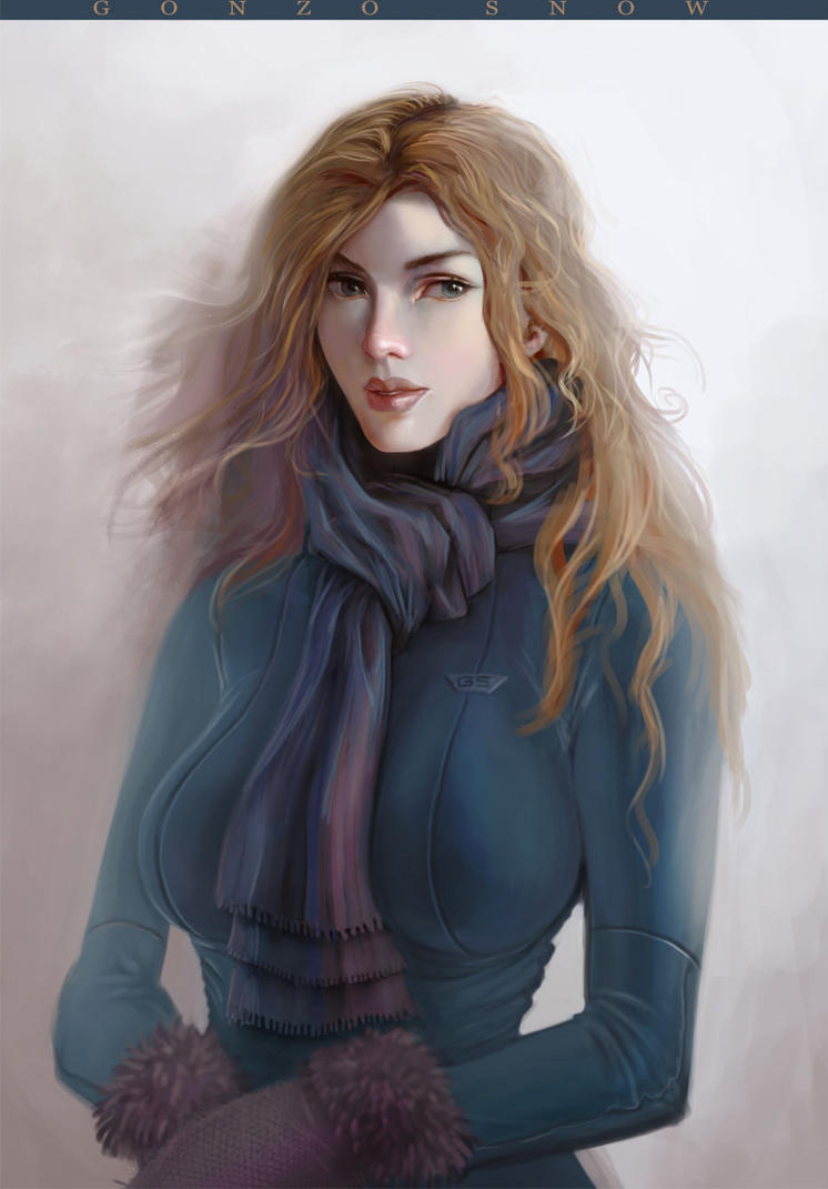 Winter girl by G0N7AL0