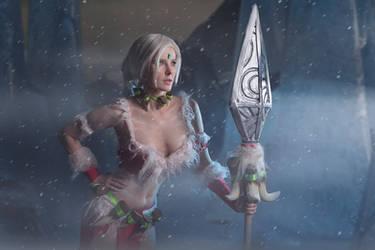 LoL: Snow Bunny Nidalee from Leiradna by RealLeiradna