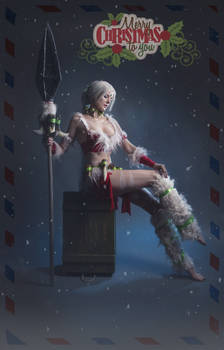LoL: Snow Bunny Nidalee from Leiradna