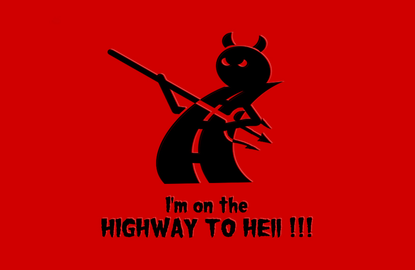 Highway to Hell Logo by playground011 on DeviantArt