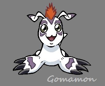 Gomamon by StarNightSong