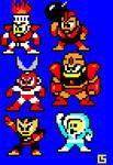 Megaman Robot Masters