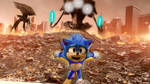 Sonic Movie Meets War of The Worlds by EvanVizuett