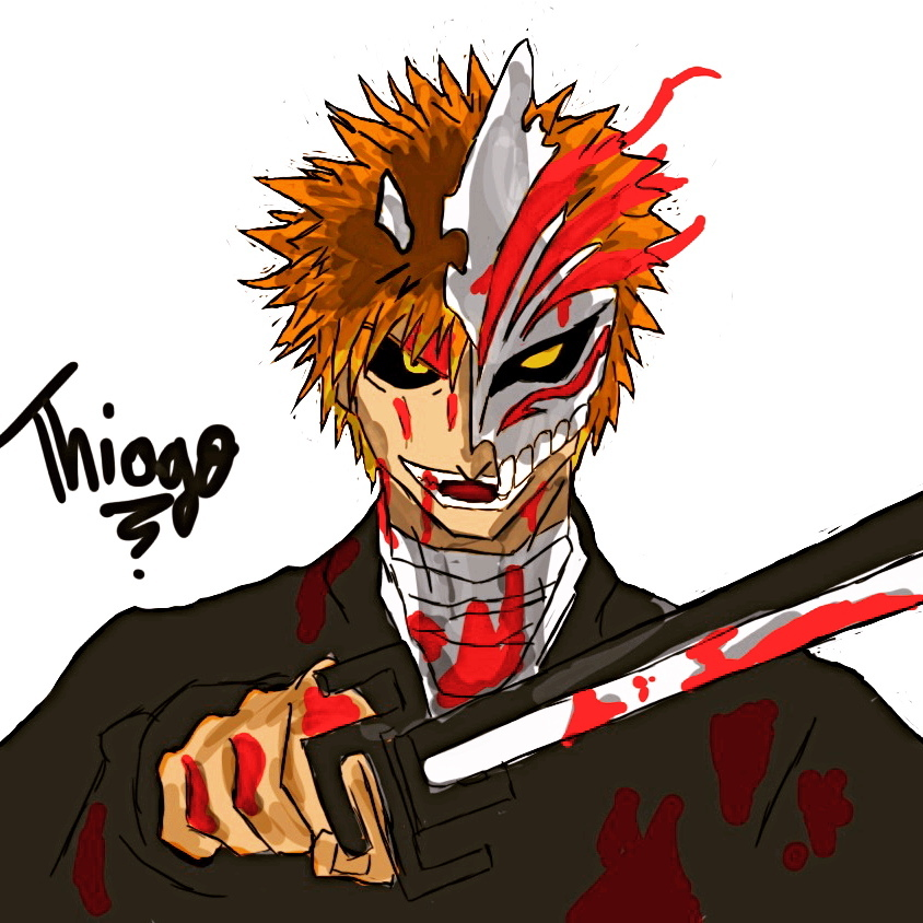 Ichigo Hollow Bleach By ThiArrais On DeviantArt