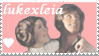LukexLeia Stamp by chesterslinkinlady