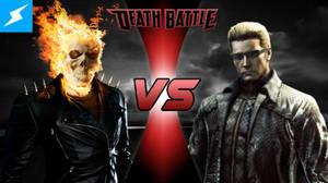 Ghost Rider VS Albert Wesker TN