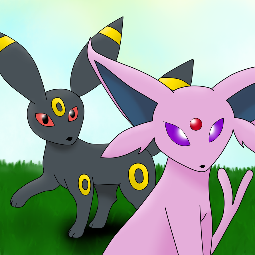 Umbreon And Espeon Espeon and Umbreon by ...