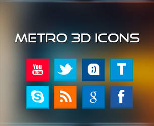 Metro 3D Icons by iAbel14
