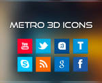 Metro 3D Icons