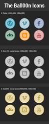 Ball00n Icons Free (84 Icons) by iAbel14