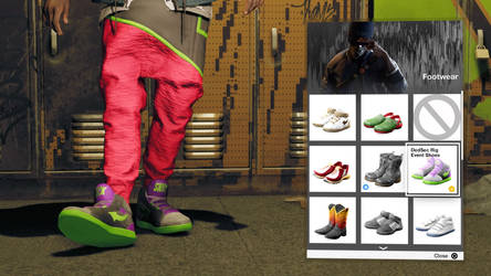 WATCH_DOGS 2: Dedsec Rig Event Shoes