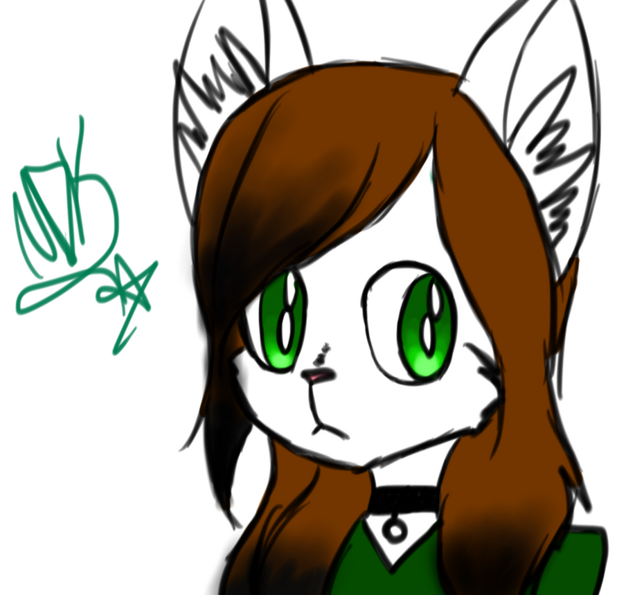 Nikki The Wolf by MadDucky76105