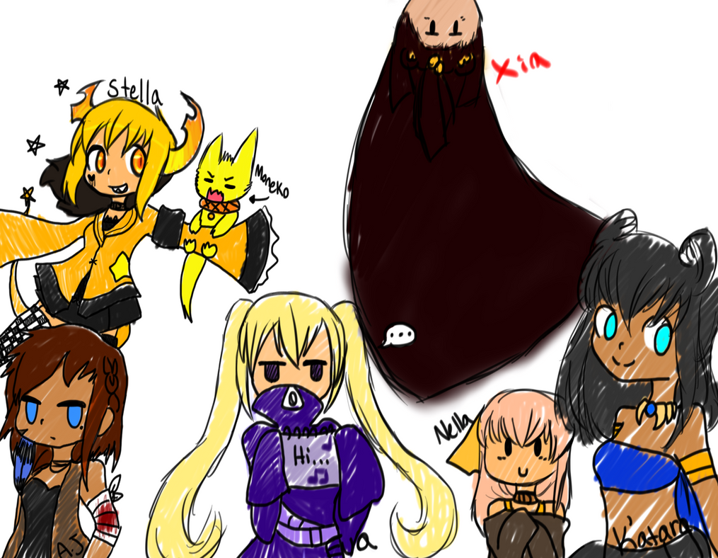 Humanish Group OC's by MadDucky76105