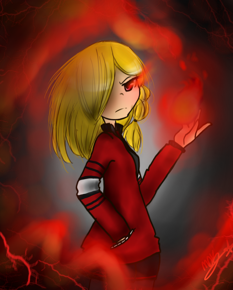 .:An Angry Reina:. by MadDucky76105
