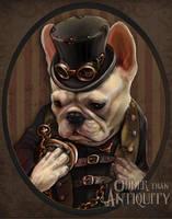 Emerson and the Emergency Steampunk Gentleman by MissTakArt