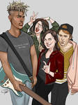 The Band by MissTakArt