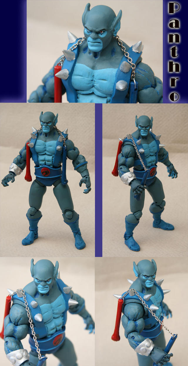 Thundercats Panthro custom by Mace2006