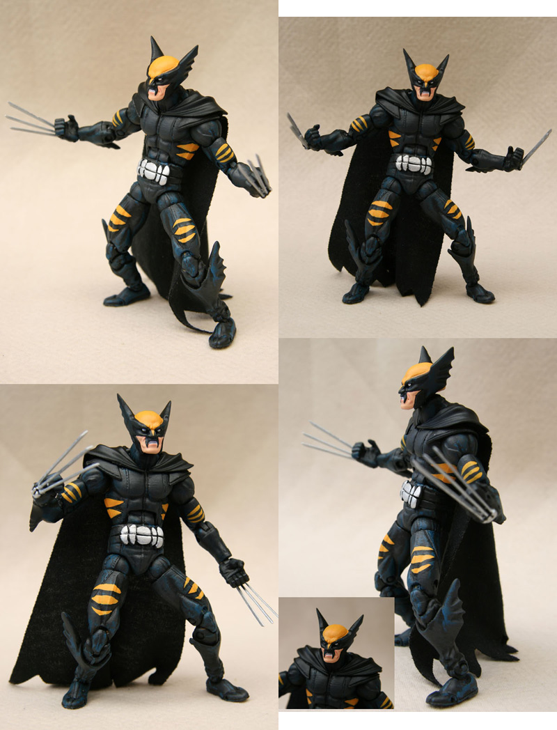 Custom Dark Claw composition by Mace2006