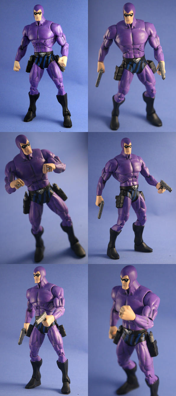 The Phantom action figure by Mace2006