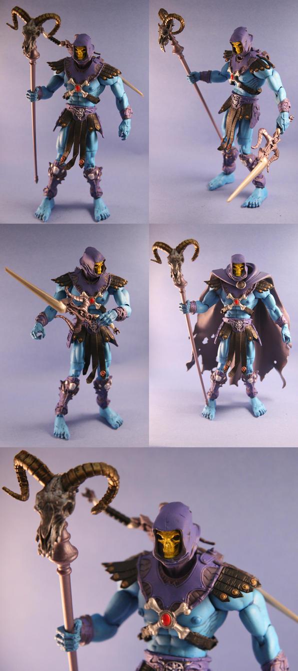 Custom Skeletor action figure by Mace2006