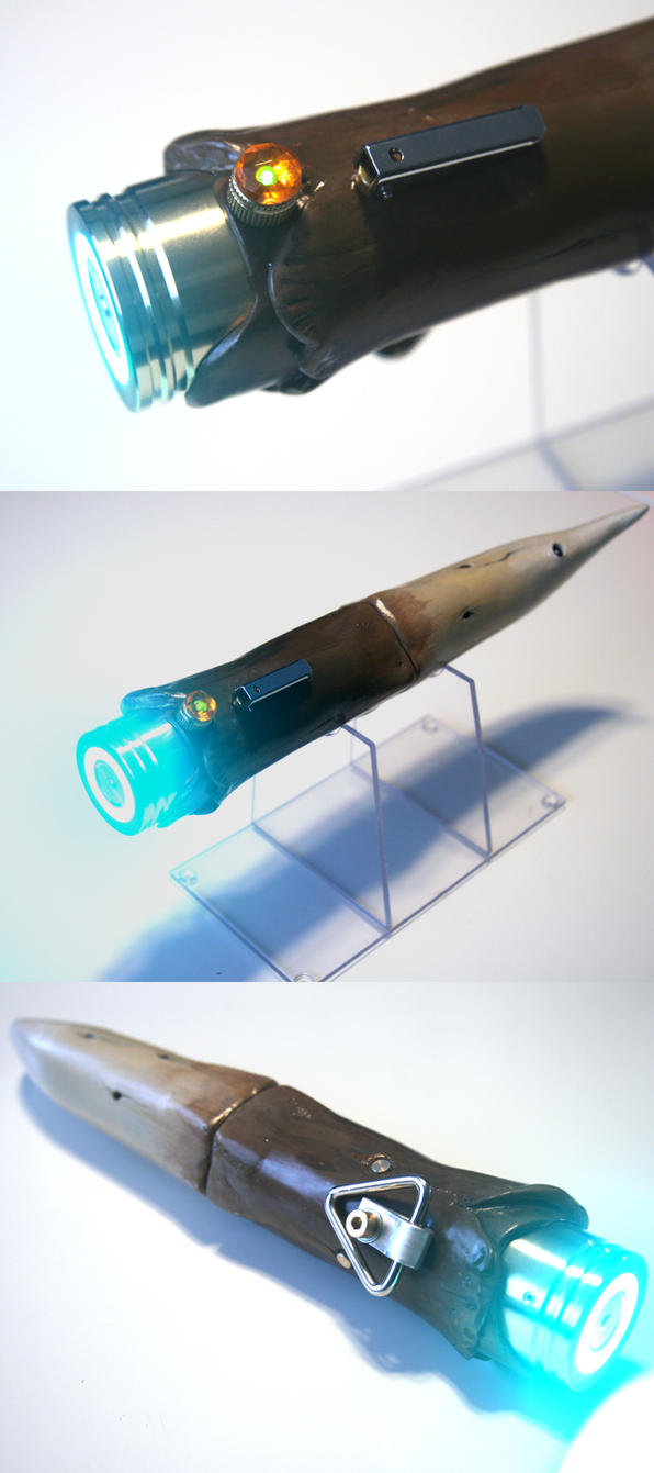 Tenel Ka Djo's lightsaber - Rancor Tooth 02 by Mace2006