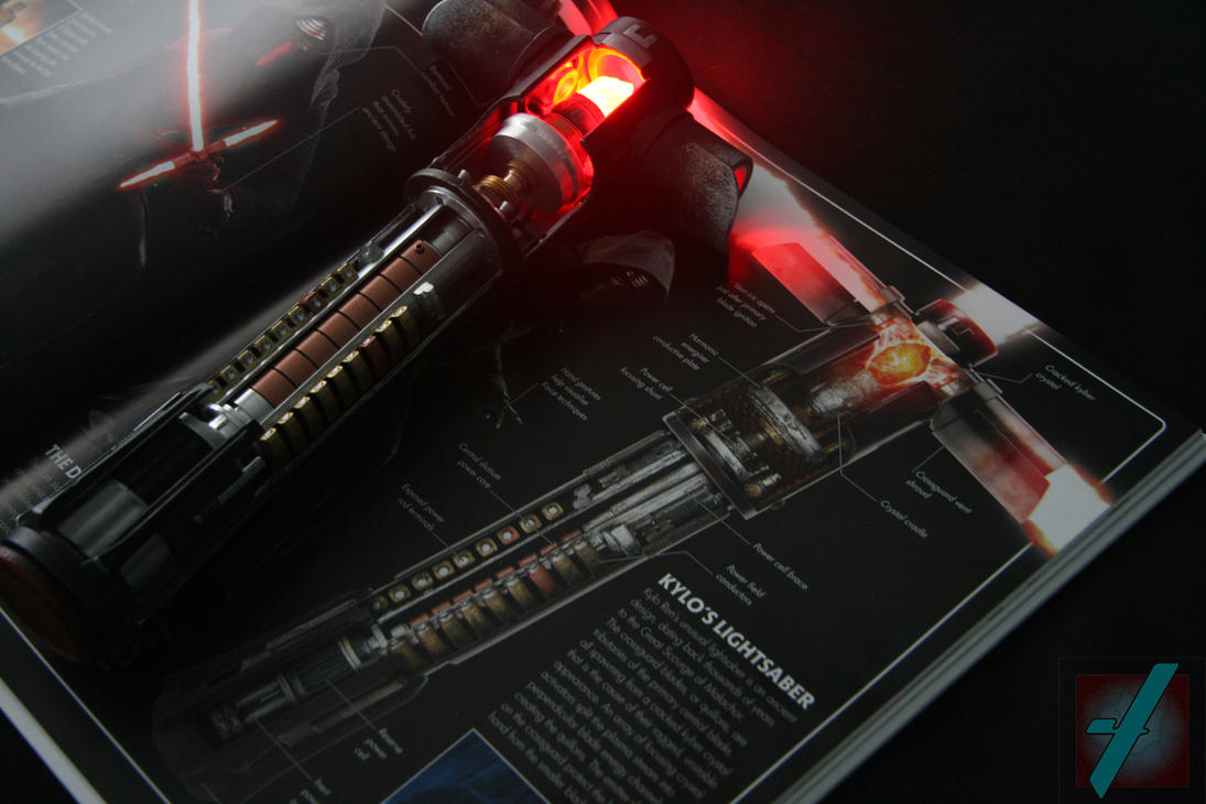 Kylo Ren cross section reveal saber 03 by Mace2006