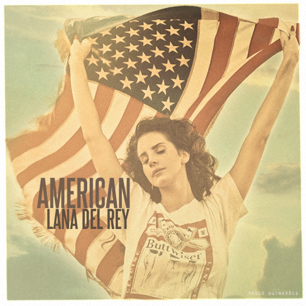 Lana Del Rey American By Fix Me Now On Deviantart