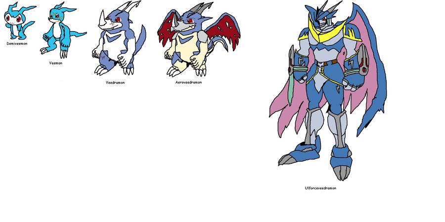 digimon veemon evolution - photo #7