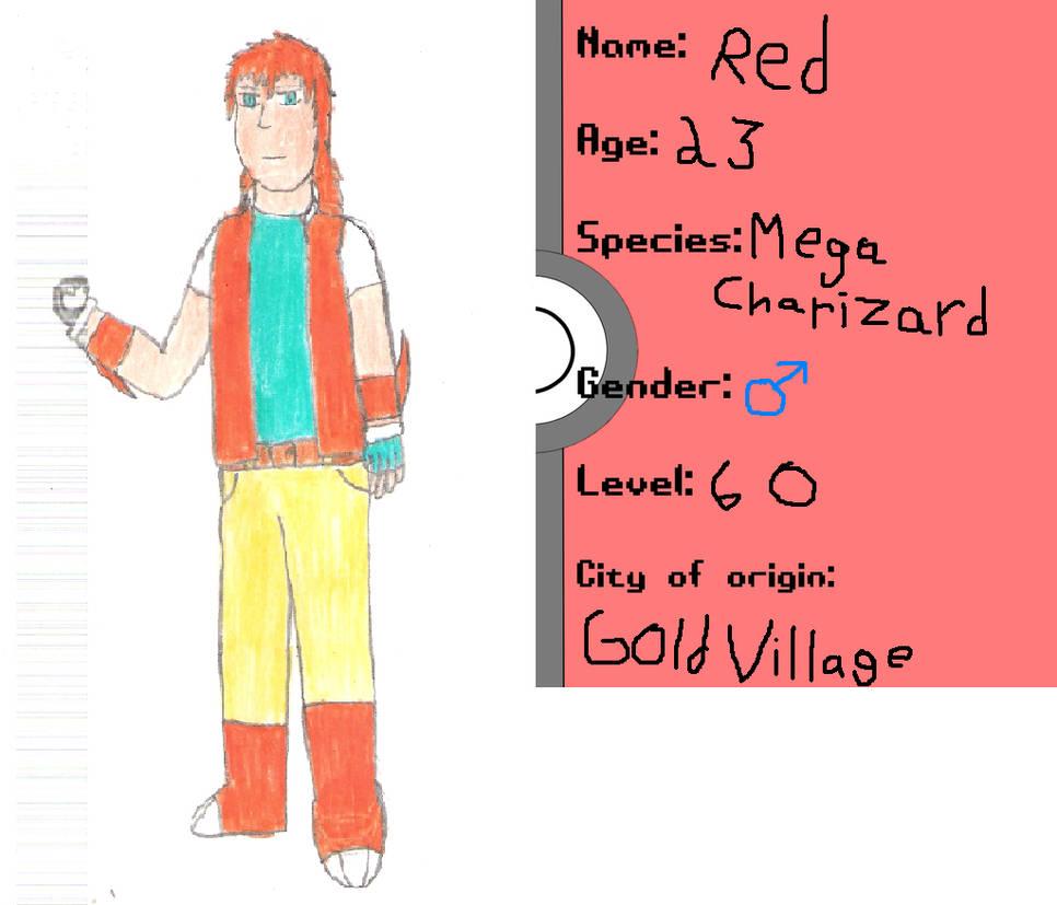 Red (mega-charizard Y) battle front app by swift56 on DeviantArt